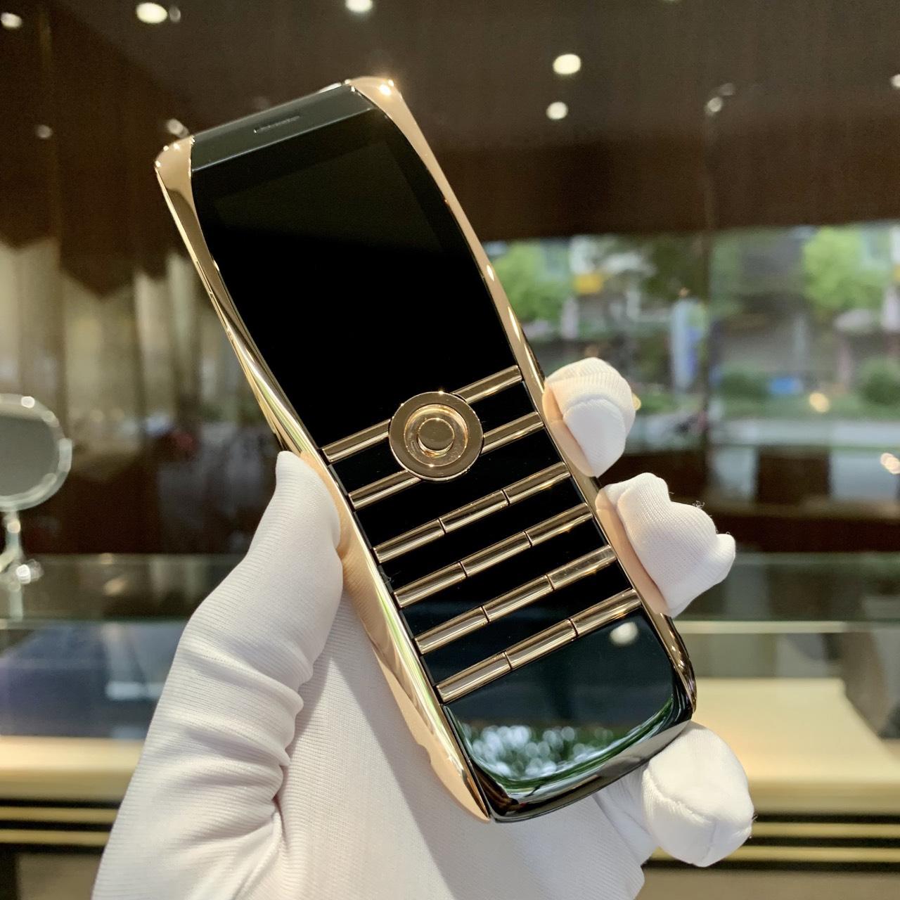Điện thoại XOR Rose Gold - vàng hồng nguyên khối